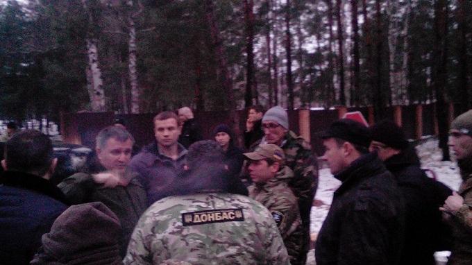 """АНТИФАШИСТ: Бойцы батальона Донбасс сегодня блокировали Авакова и """"предателя Семенченко"""""""