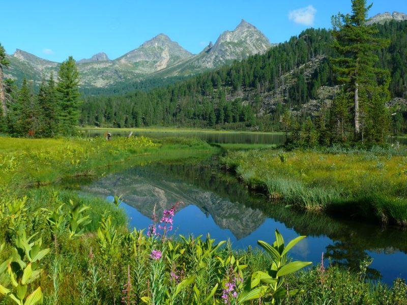 Природа России: жемчужина Западных Саян
