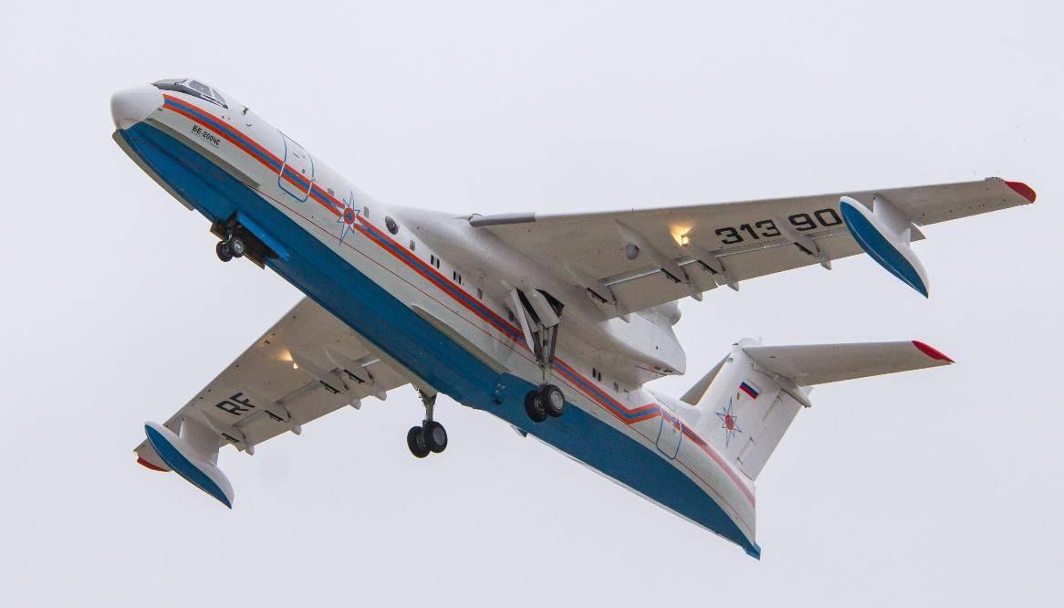 МЧС России получило шестой самолет Бе-200 таганрогской сборки