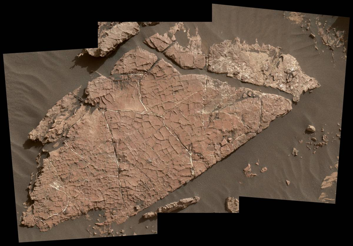 Обнаружены доказательства наличия воды на Марсе