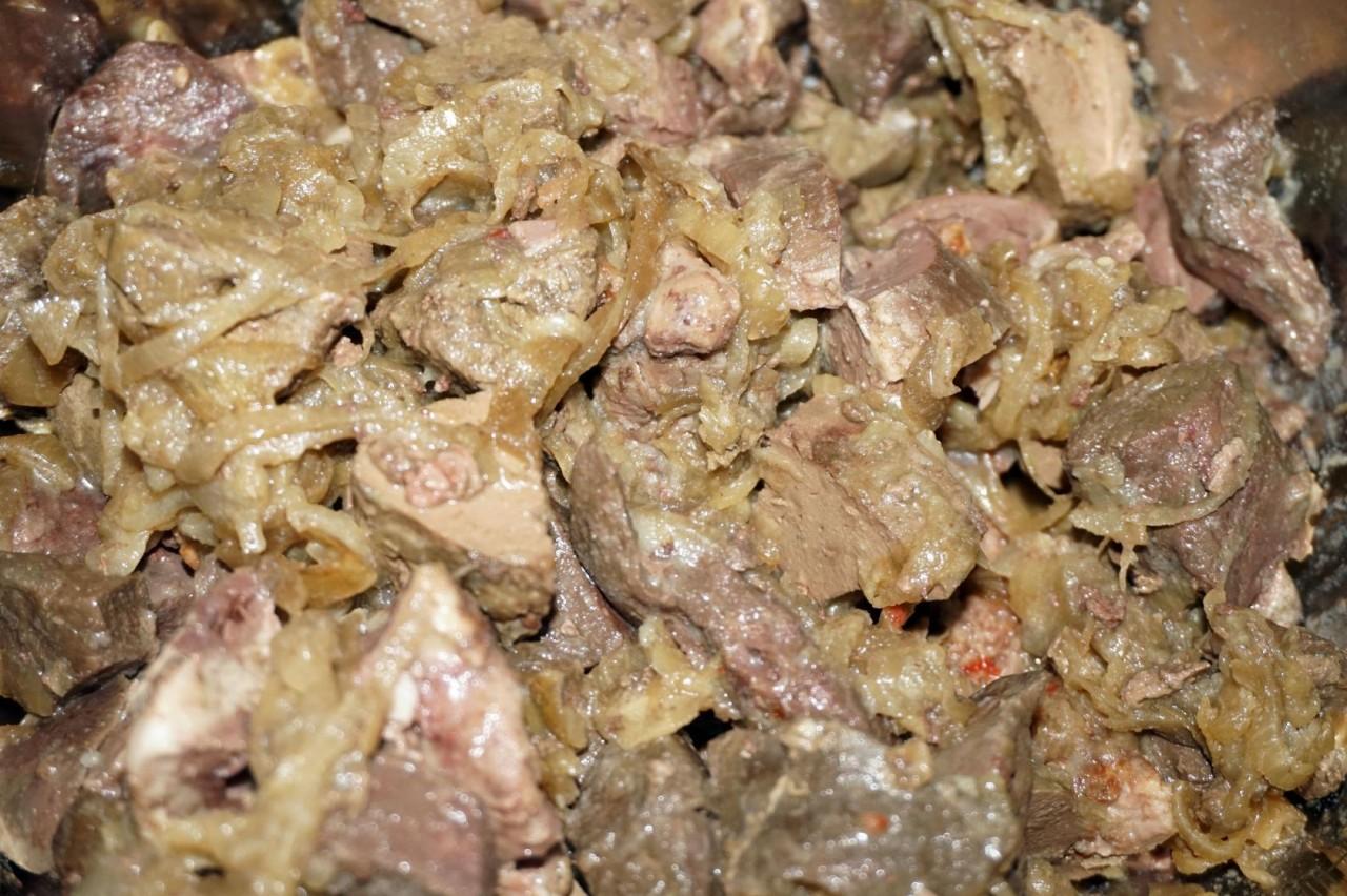 рецепты из бараньего ливера с фото