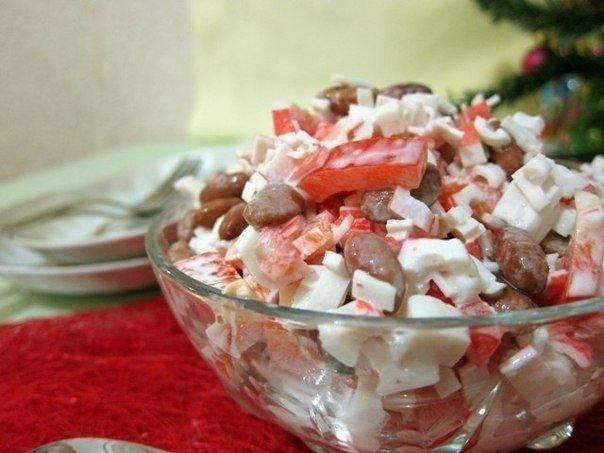 Обалденный салатик к праздни…