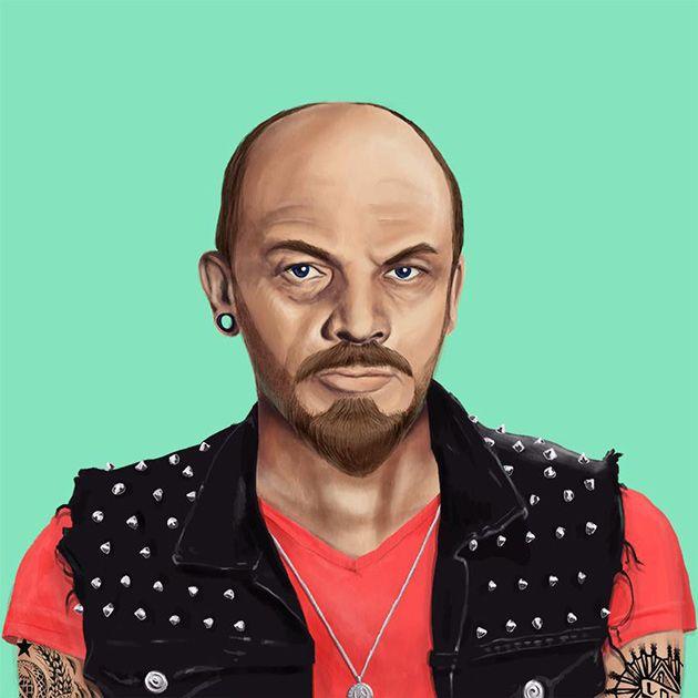 Hipstory: если бы Ленин, Меркель и Далай Лама были хипстерами...