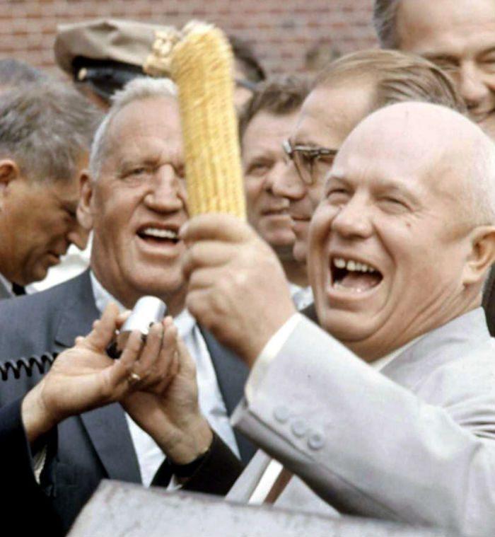 Как Хрущев в 1959 году в Америку ездил