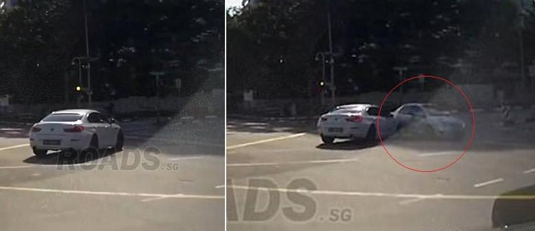 Автомобиль-призрак, который возник из ниоткуда. Видео.