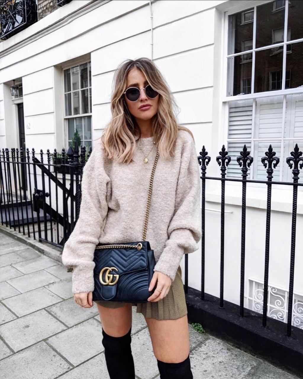 Одежда оверсайз 2018: 15 стильных образов