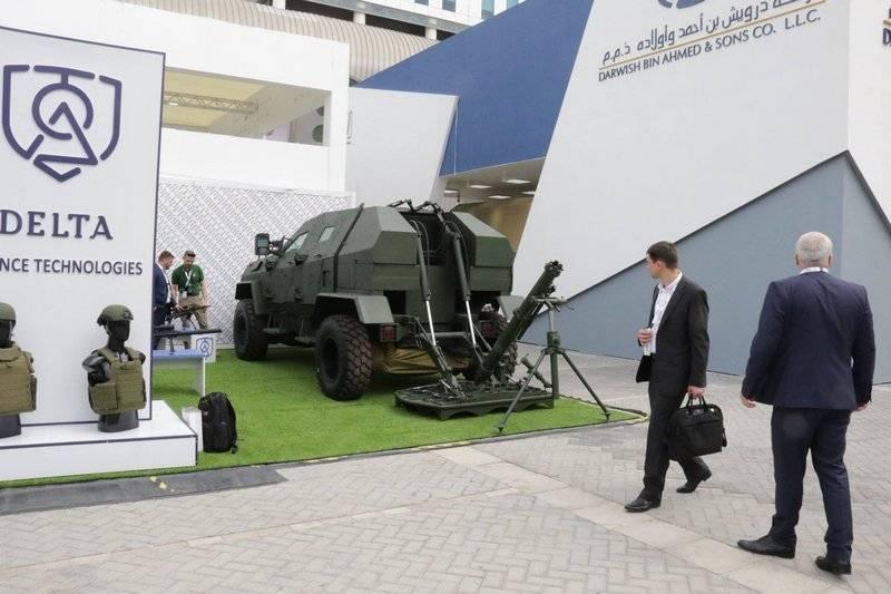 Грузия представила новый самоходный 120-мм миномётный комплекс