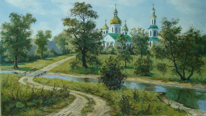 Художник Николай Сапиенко