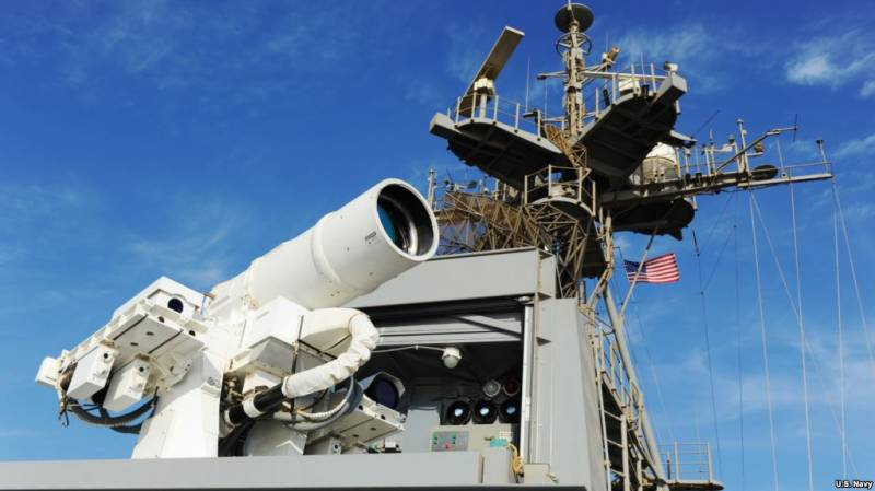 Страдания несчастного ежика, которого почему-то всегда пугают голым задом. О сообщении CNN об испытаниях лазерной пушки ВМФ США в Персидском заливе