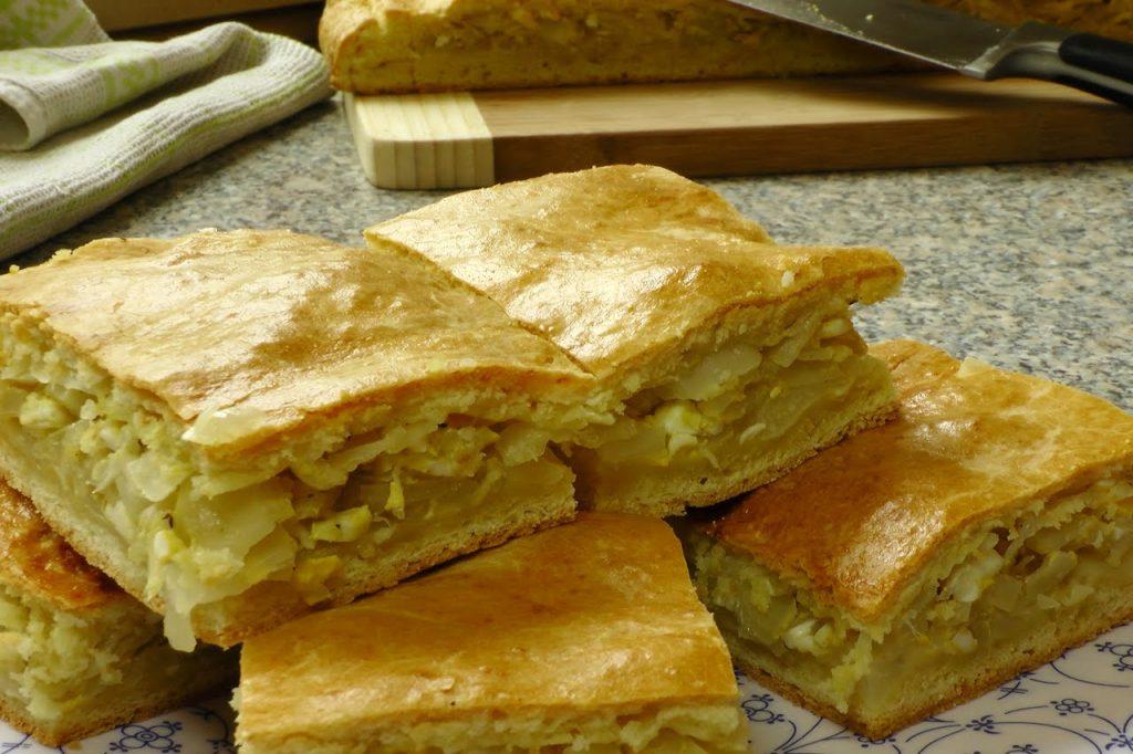 Низкокалорийный капустный пирог — идеальный ужин