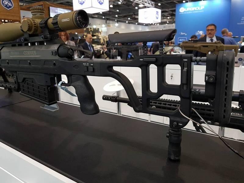 Крупнокалиберная снайперская винтовка Corvus от Victrix Armaments