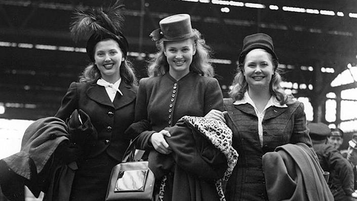 Гуттаперчевые девушки сороковых: это трио и сегодня не имеет равных