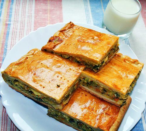 Пирог на кефире «Простецкий»