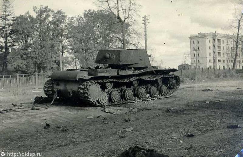 И один танк в поле воин, если он русский война, история, кв-1, подвиг, танк