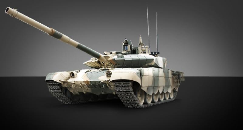 Сделан в России, проверен в Сирии: танк Т-90МС отправляется на Ближний Восток