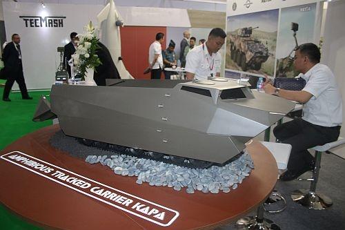 Проект амфибийного транспортера из Индонезии