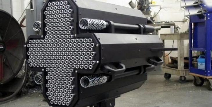 Metal Storm — самое скорострельное оружие в мире
