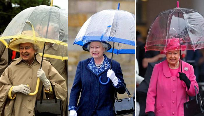 Зонты королева предпочитает покупать всегда одного бренда