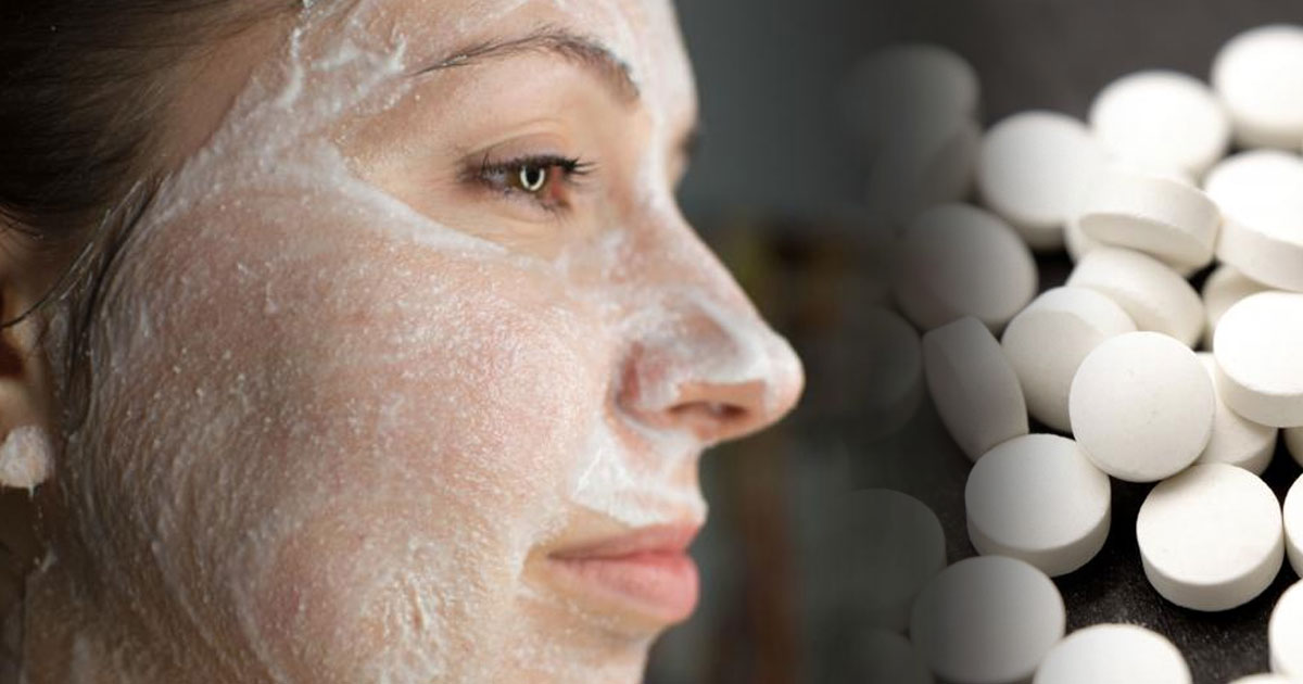 Аспирин и лимон – почти все, что надо для роскошной маски для лица