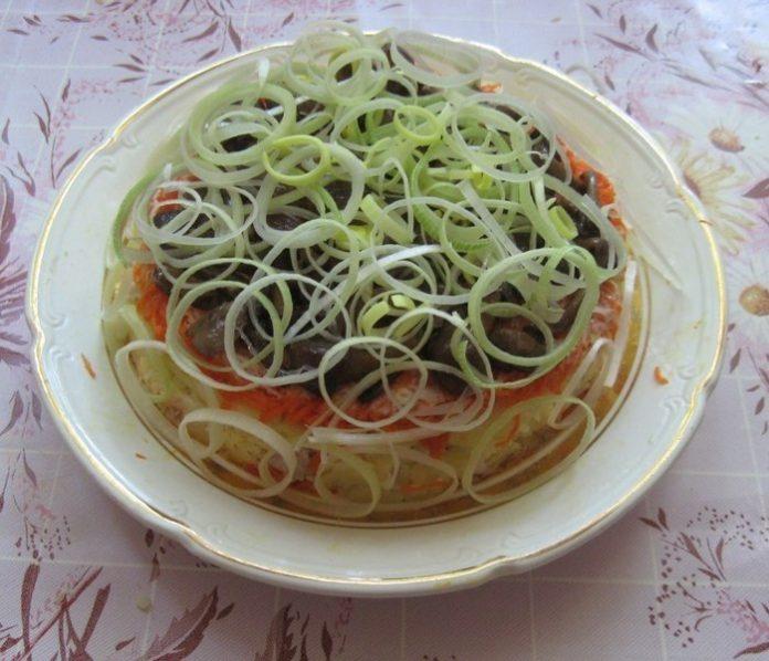 Бесподобный салат «Опушка». Идеальное сочетание