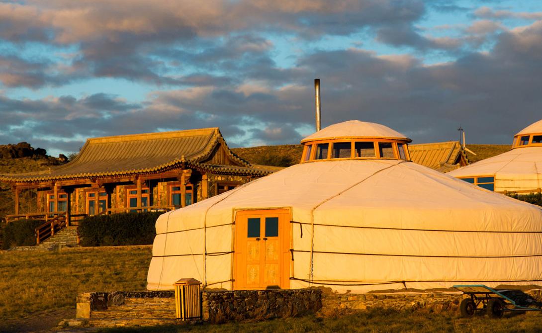 Three Camel Lodge. 7 самых укромных курортов мира. Фото с сайта NewPix.ru