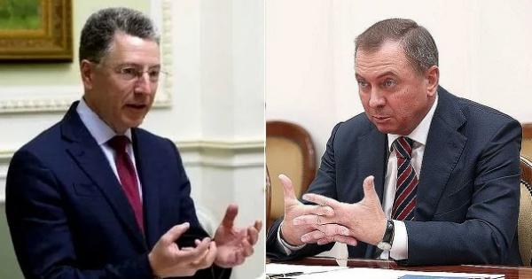 Переговоры Волкера сглавой белорусского МИДа вызвали тревогу вКиеве