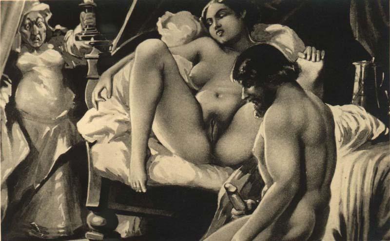 Анальный секс живопись