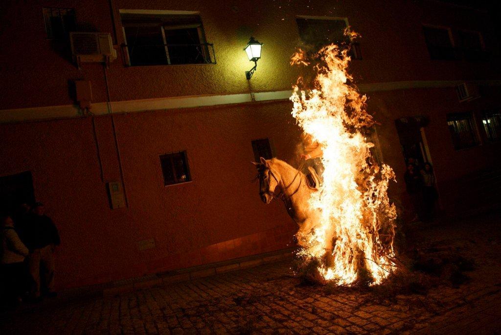 Luminarias - испанский фестиваль огня и животных-1
