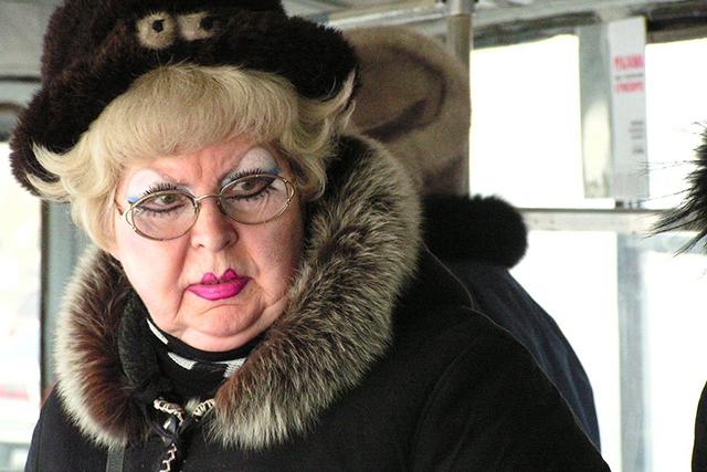 Эта женщина поставила на уши всю маршрутку, и покинула ее очень забавным образом