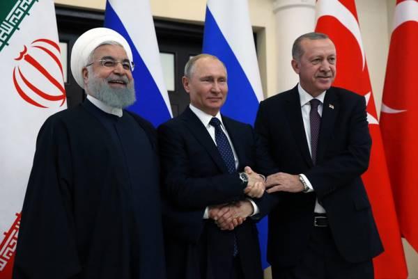 Целостность Сирии поддержали президенты России, Ирана и Турции