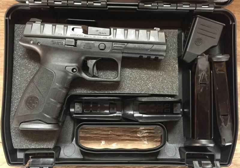 Пистолет Beretta APX ушел из армии на гражданский рынок