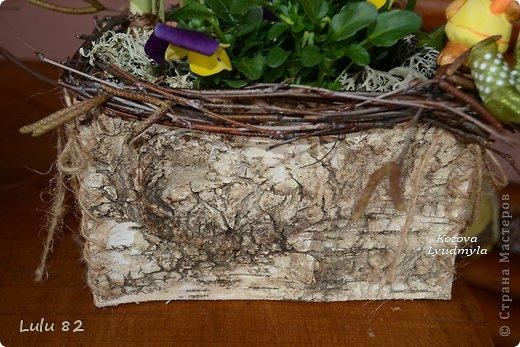 Скоро Пасха, во многих странах символом этого праздника является пасхальный заяц. Вот я и решила его сделать. . Фото 24