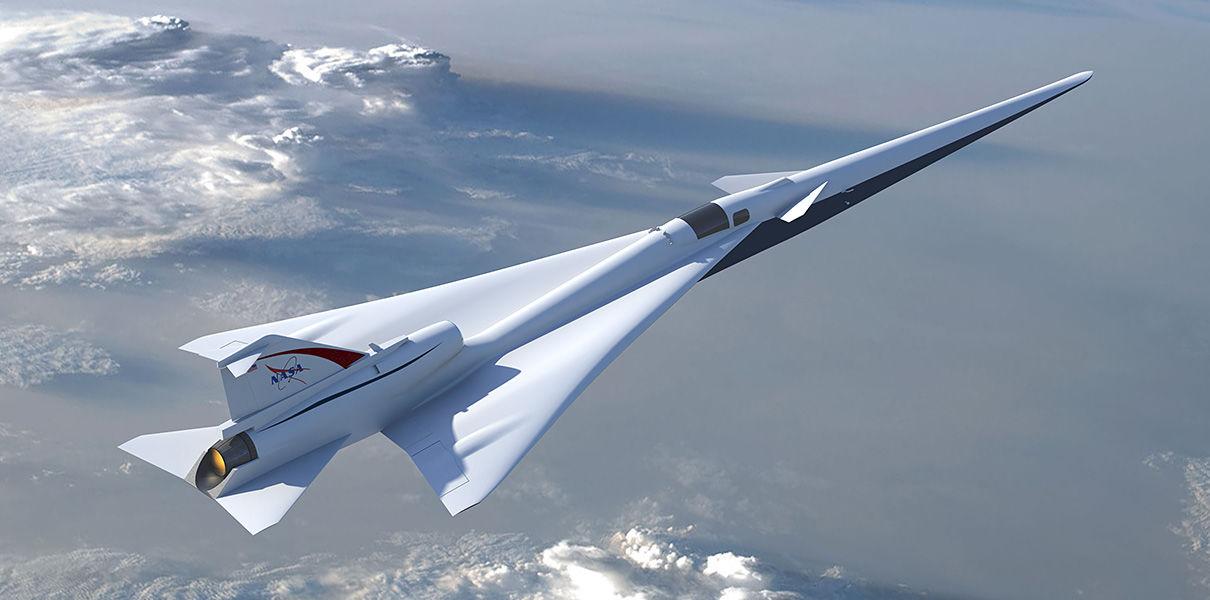 NASA испытала технологию бесшумного преодоления звукового барьера