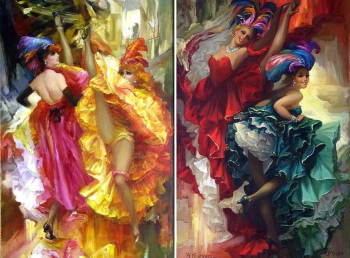 Канкан – «утиный» танец, ста…