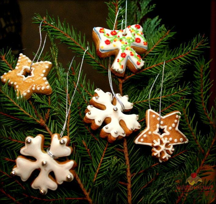 Съедобные елочные украшения: вкусный праздник