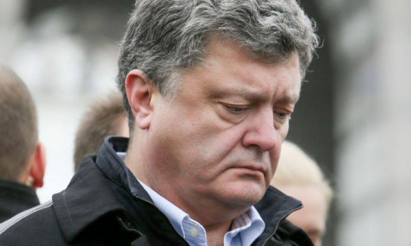 Позорище Украины: Порошенко Петр, лучше иногда жевать, чемговорить!