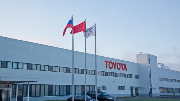 Toyota в конце года начнет штамповку кузовных деталей в России