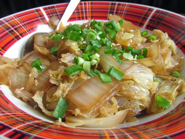 Пекинская капуста в соевом соусе