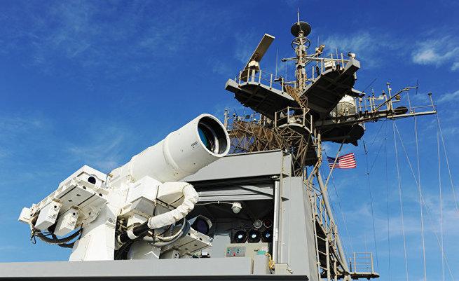 Американский лазер для уничтожения беспилотников. CNN, США