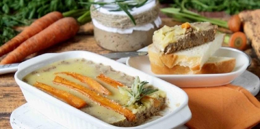 Паштет с карамелизированной морковью: нежная закуска
