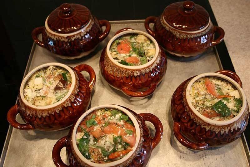 рецепты блюд в горшочках со свининой