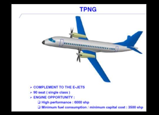 Компания Embraer планирует вернуться на рынок турбовинтовых пассажирских самолетов