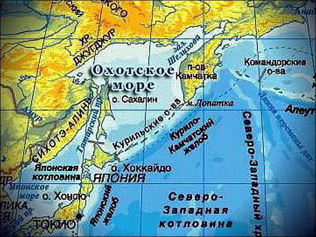Территория России увеличилась на восток на 52 тысячи кв. км