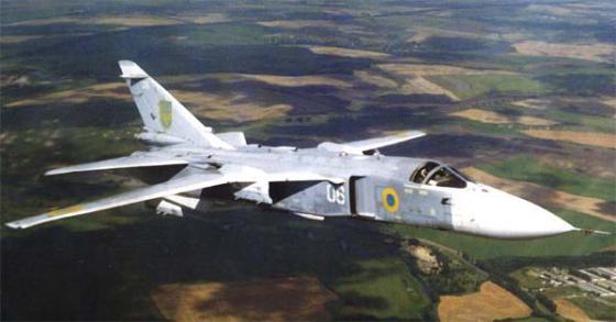 Боевое применение украинских Су-24М (МР) в конфликте на Донбассе