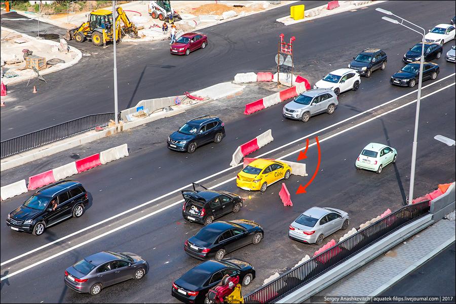 Как разбить машину из-за мудаков-дорожников