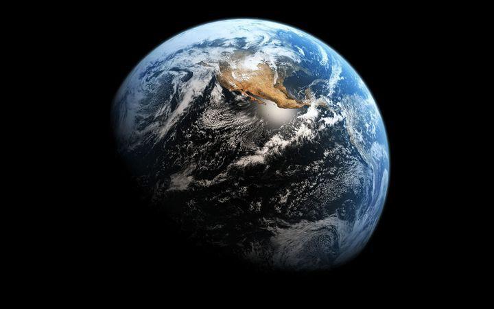 Как будет выглядеть Земля, если растает весь лед на планете   земля, лед
