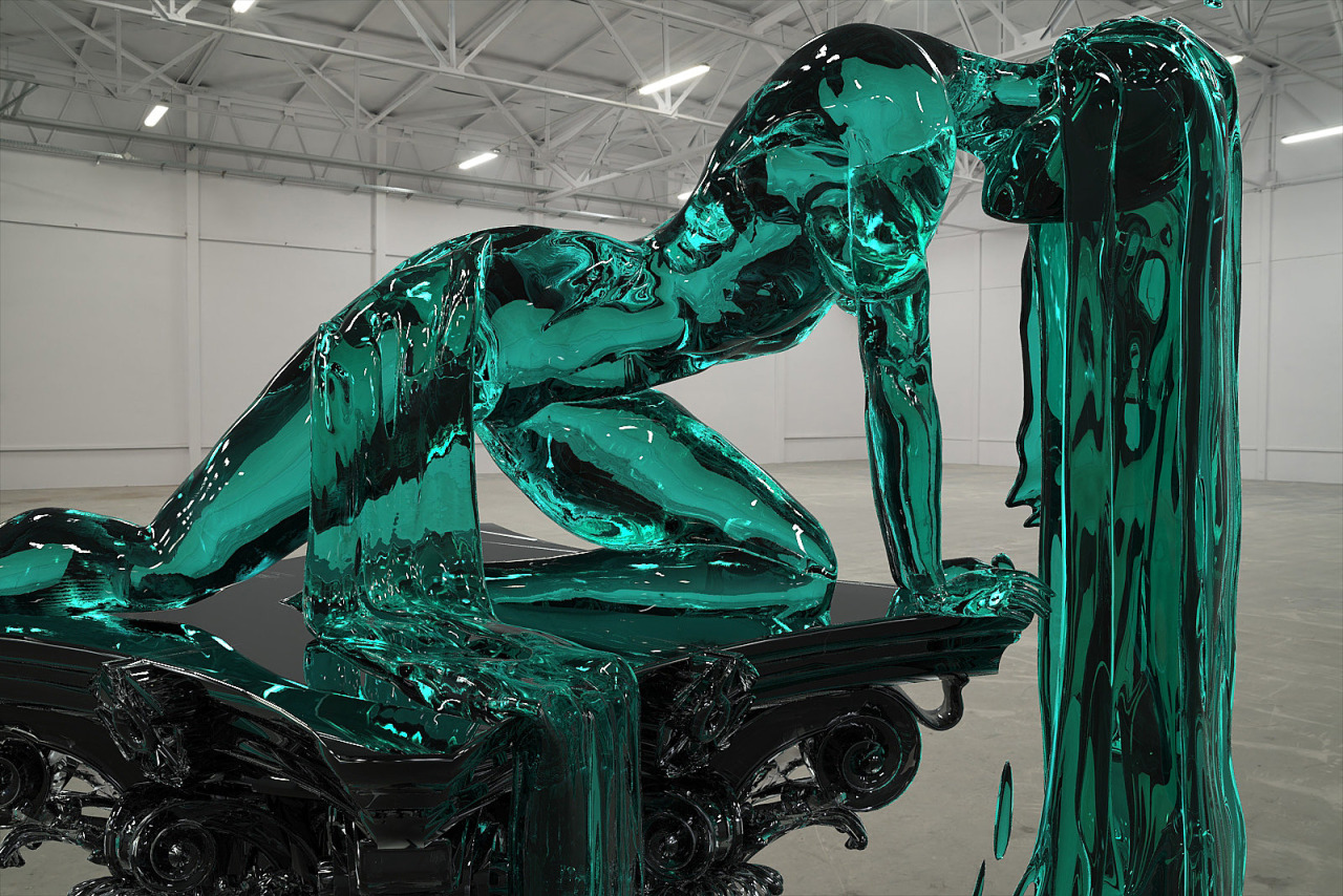 Великолепные скульптуры из стекла