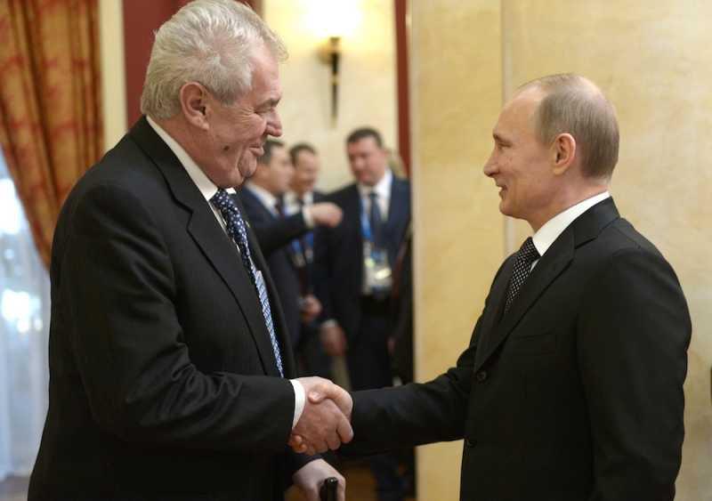 """Новый """"подарок"""" Западу от чешского президента Милоша Земана"""