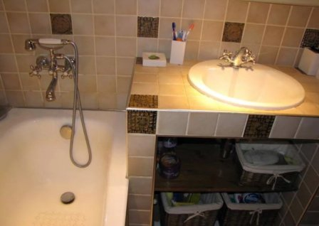 Раковины в ванной комнате - фото