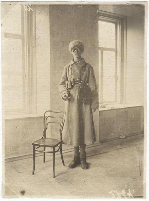 Красный командир Антон Близнюк, раненый 13 раз, 1920 год, РСФСР было, история, фото